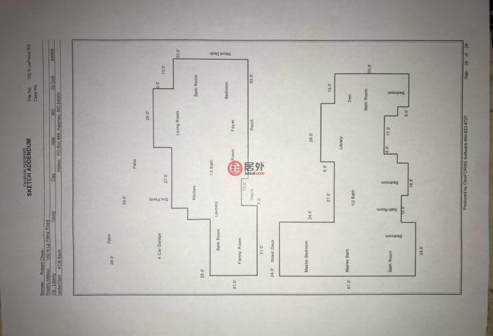 美国密苏里州利伯蒂的房产,102 North la Frenz Rd,编号47586363