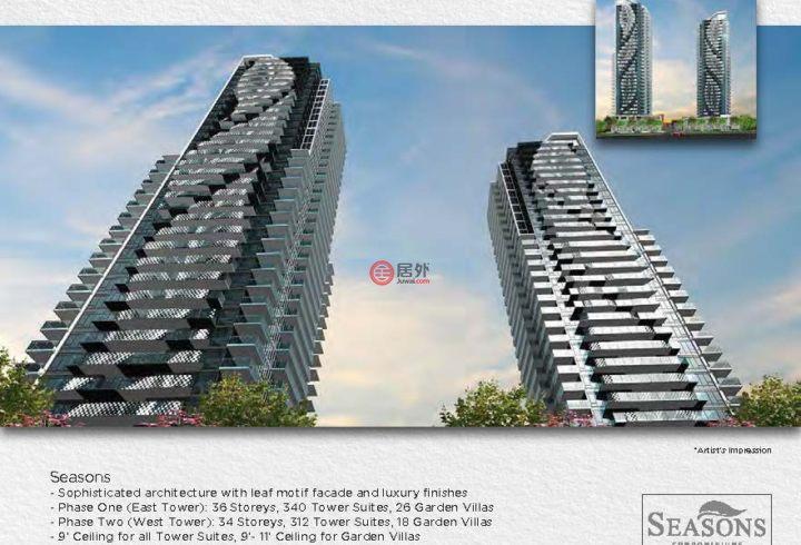 加拿大安大略省多伦多3卧3卫新开发的房产