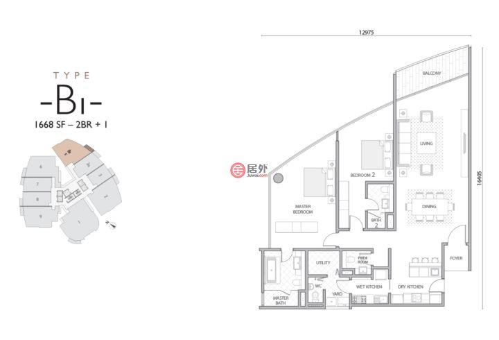 马来西亚Wilayah PersekutuanKuala Lumpur的房产,Jalan Damanlela,编号51721443