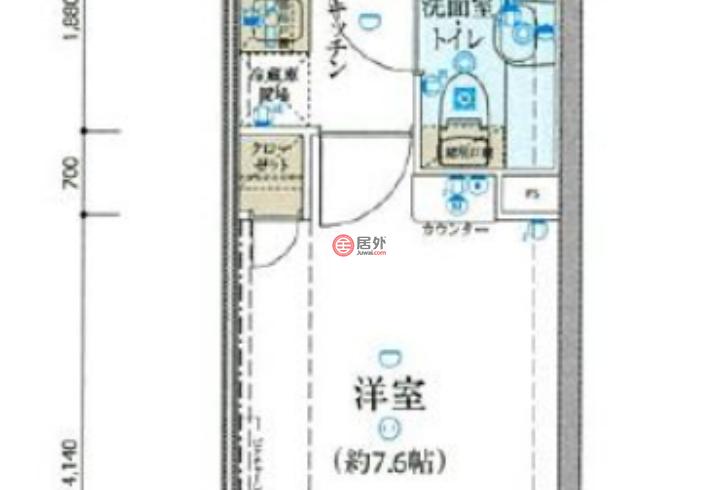 日本TokyoTokyo的房产,中区相生町,编号51694781