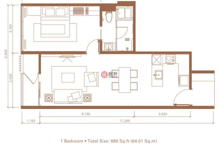 泰国Bangkok班苏的房产,编号53384441