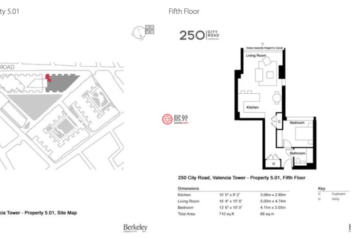 英国英格兰伦敦的房产,城市大道250号,伊斯灵顿,小硅谷,北一区,编号32453417