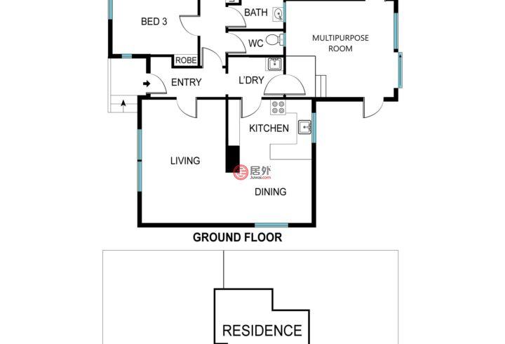 澳大利亚澳大利亚首都领地Holt的房产,34 Trumper Street,编号57283629