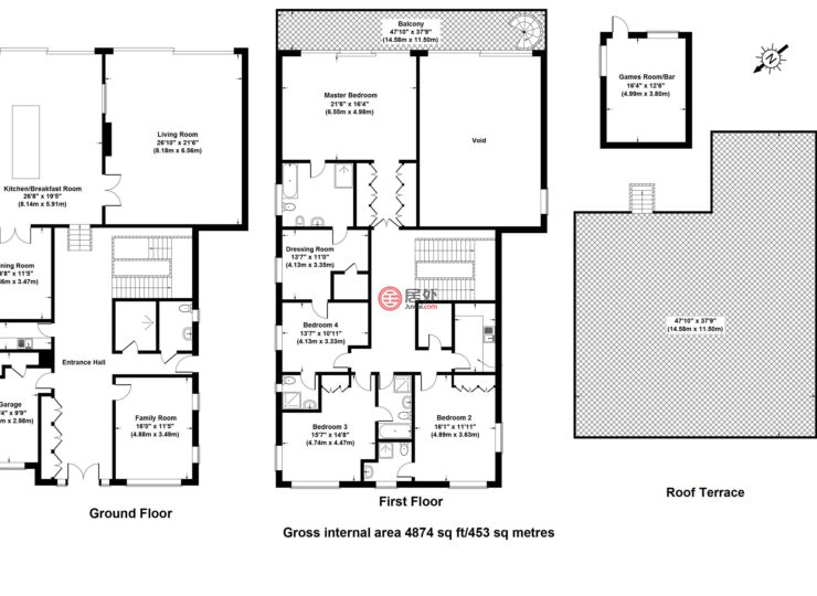 英国英格兰伦敦的房产,Whitelights Arkley North London,编号38879320